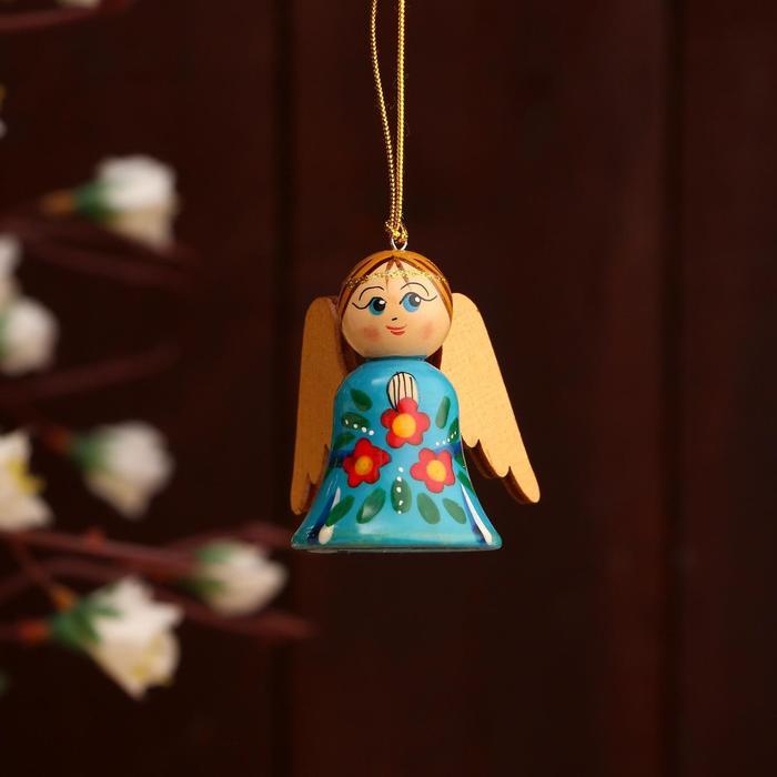 Сувенир «Ангел с крыльями», ручная работа, микс