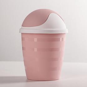Контейнер для мелкого косметического мусора 1,5 л Beauty, цвет МИКС Ош