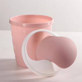 Контейнер для мелкого косметического мусора 1,5 л Beauty, цвет МИКС - фото 1709613