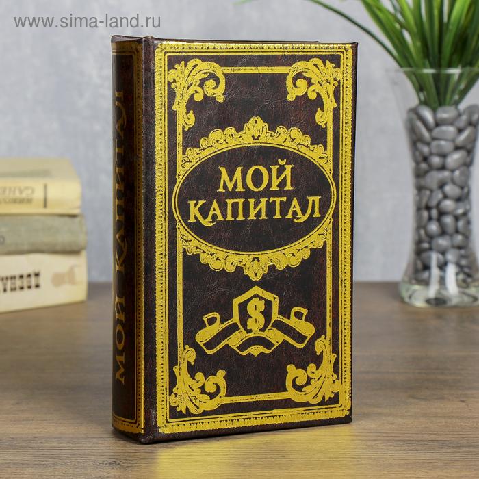 "Книга - сейф ""Мой капитал"""