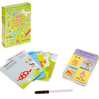 Возьми с собой в дорогу. Асборн-карточки. 100 логических игр д/путешествий, 50 карточек