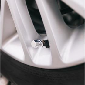 Колпачки на вентиль TORSO хром, набор 4 шт.