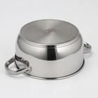 Кастрюля «Классика-Прима», 2,5 л, с металлической крышкой - фото 308064759