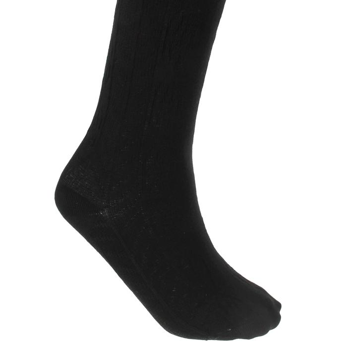 Колготки детские Д130, цвет черный, рост 128-134 см