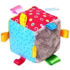 Мягкий Кубик развивающий с петельками - фото 106533630