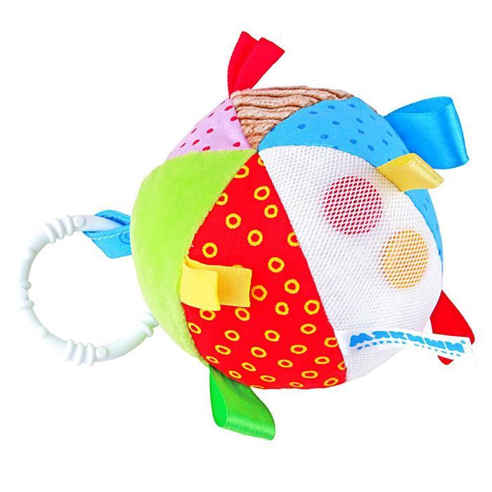 Мячик развивающий с петельками - фото 106533636