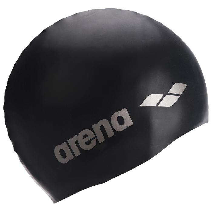 Шапочка для плавания ARENA Classic Silicone Jr, силикон, цвет тёмно - синий
