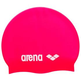 Шапочка для плавания ARENA Classic Silicone, цвет розовый