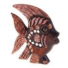Сувенир Коралловая рыбка 15 см 12BNK 01-93E дерево