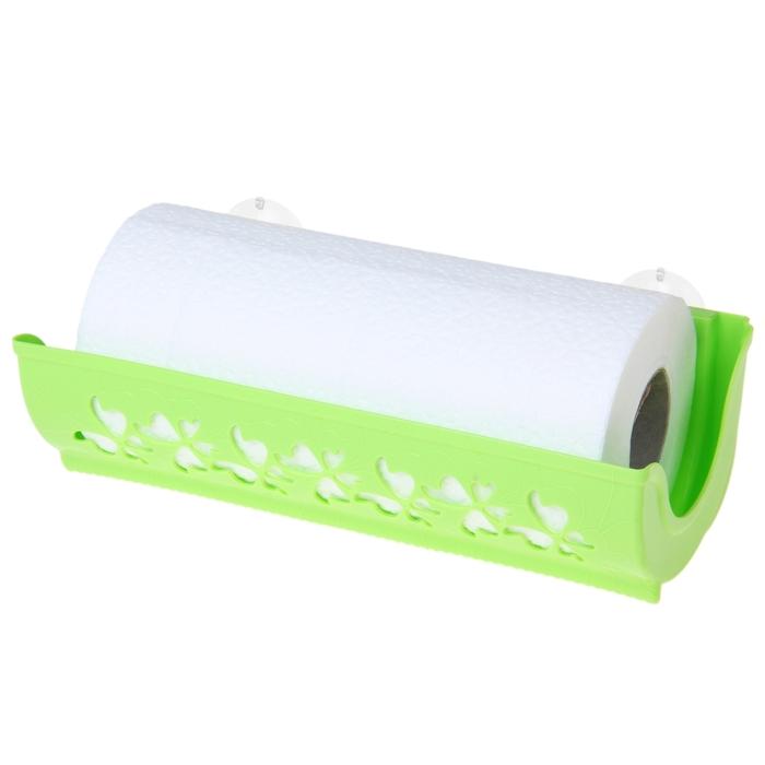 Держатель для бумажных полотенец Fly, цвет салатный
