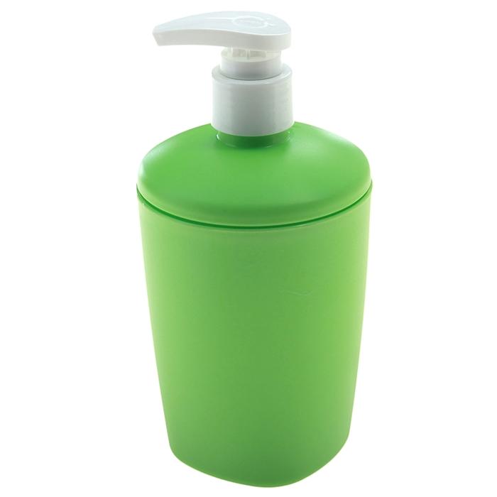 Дозатор 300 мл Aqua, цвет салатовый - фото 1708302