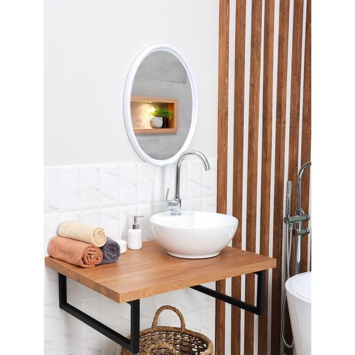 "Зеркало ""Sonata"", цвет снежно-белый"