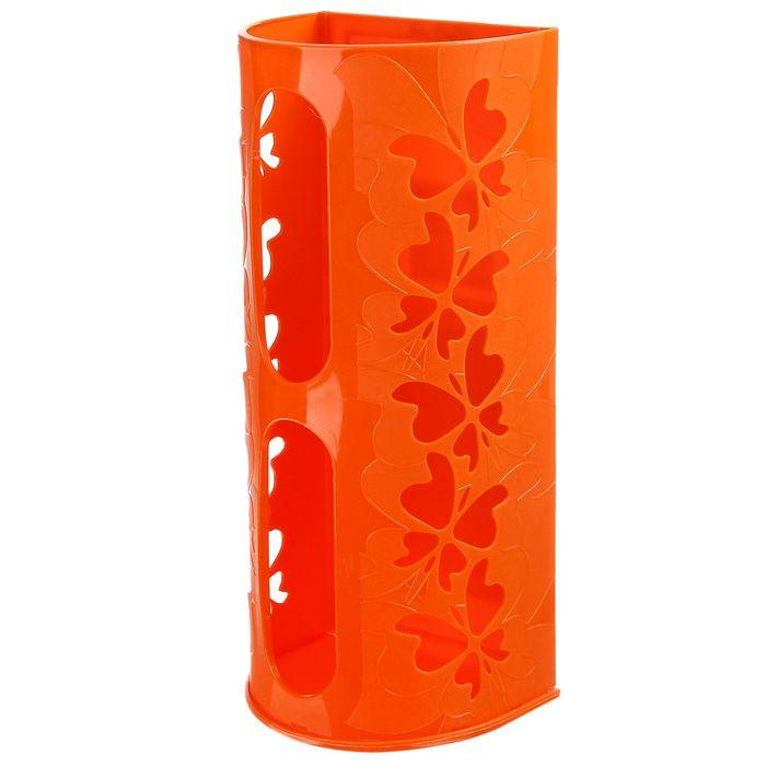 Корзина для пакетов Fly, цвет мандариновый