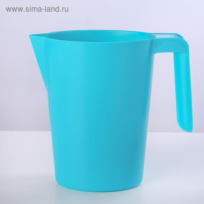 """Кувшин-подставка для молочного пакета """"Санти"""", бирюза"""