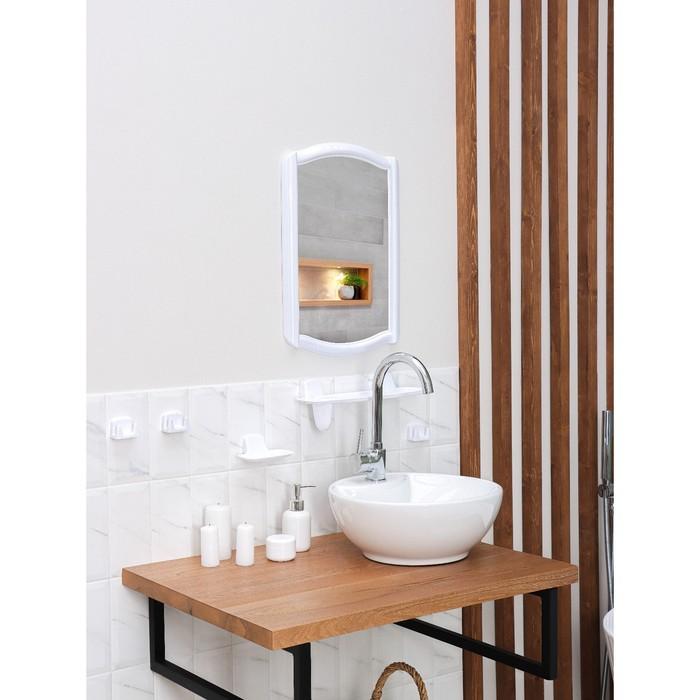 Набор для ванной комнаты Berossi 46, цвет белый
