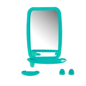 """Набор для ванной комнаты """"Optima"""", цвет бирюзовый"""