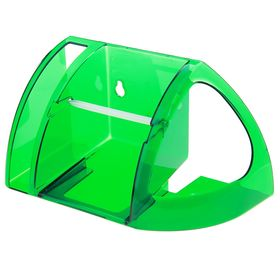 Полка для туалета, цвет зеленый