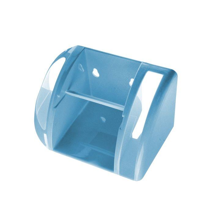 Полка для туалета, цвет светло-голубой