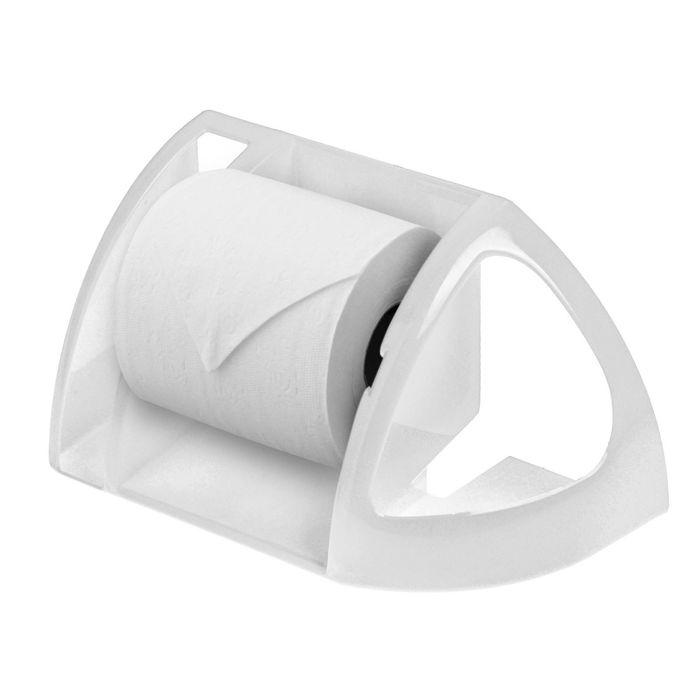 Полка для туалета, цвет снежно-белый