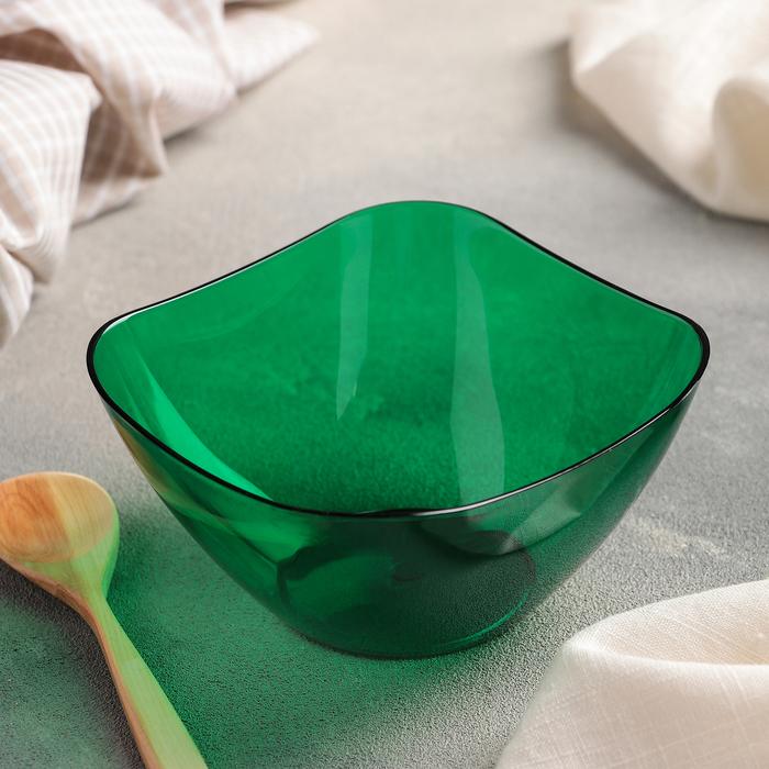 Салатник 500 мл Ice, цвет зеленый