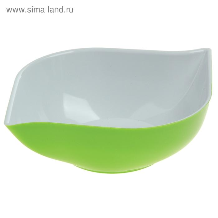 """Салатник 500 мл """"Эстель"""", зеленый"""
