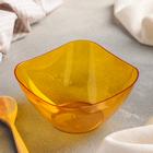 Салатник 500 мл Ice, цвет желтый