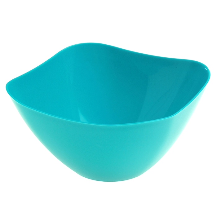 Салатник 1 л, цвет бирюза