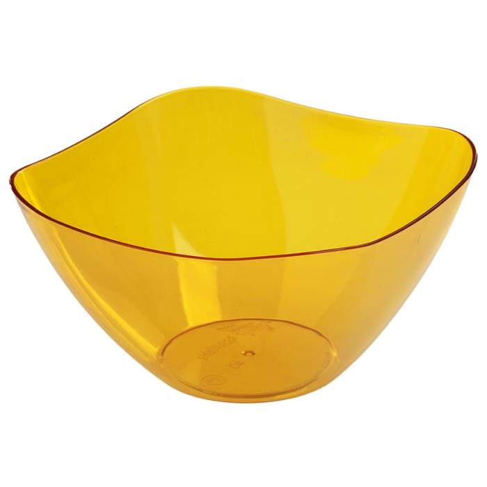Салатник 1 л Ice, цвет желтый