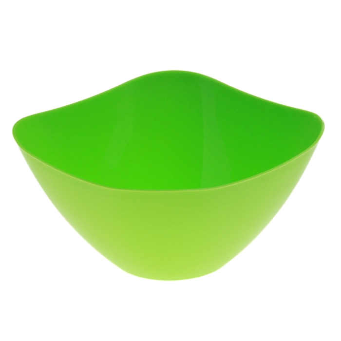 Салатник 1 л, цвет зеленый