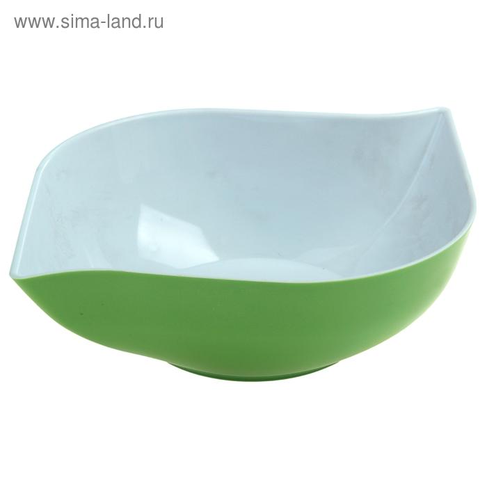 """Салатник 1,5 л """"Эстель"""", зеленый"""