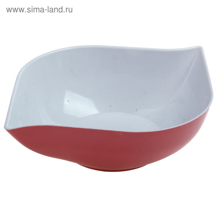 """Салатник 1,5 л """"Эстель"""", цвет розовый"""
