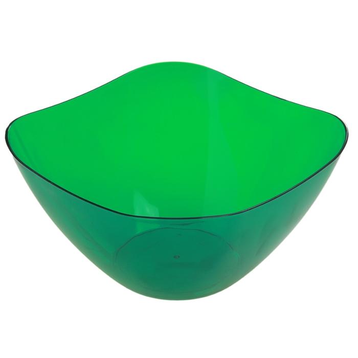 Салатник 2 л Ice, зеленый