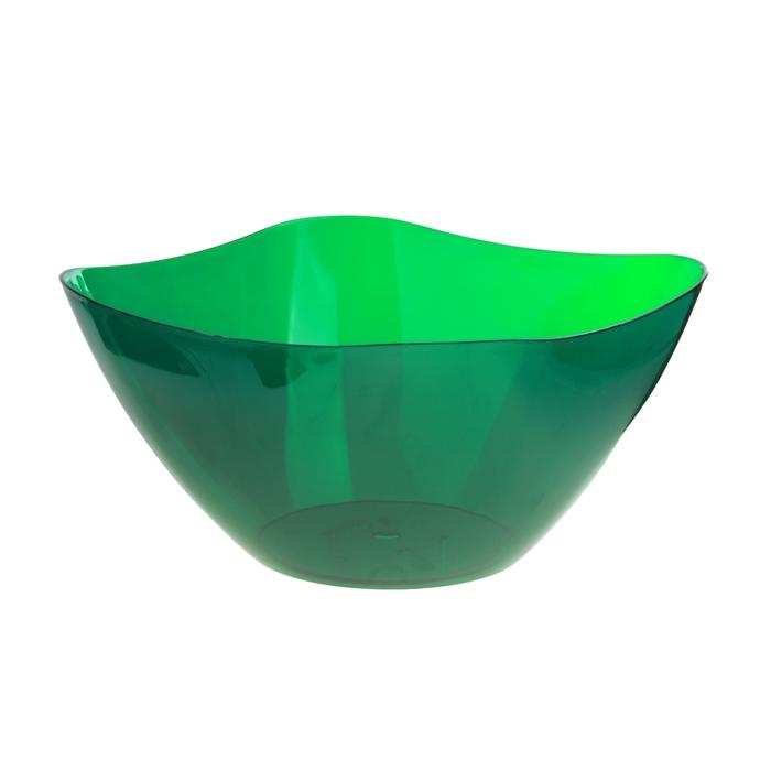 Салатник 3 л Ice, зеленый