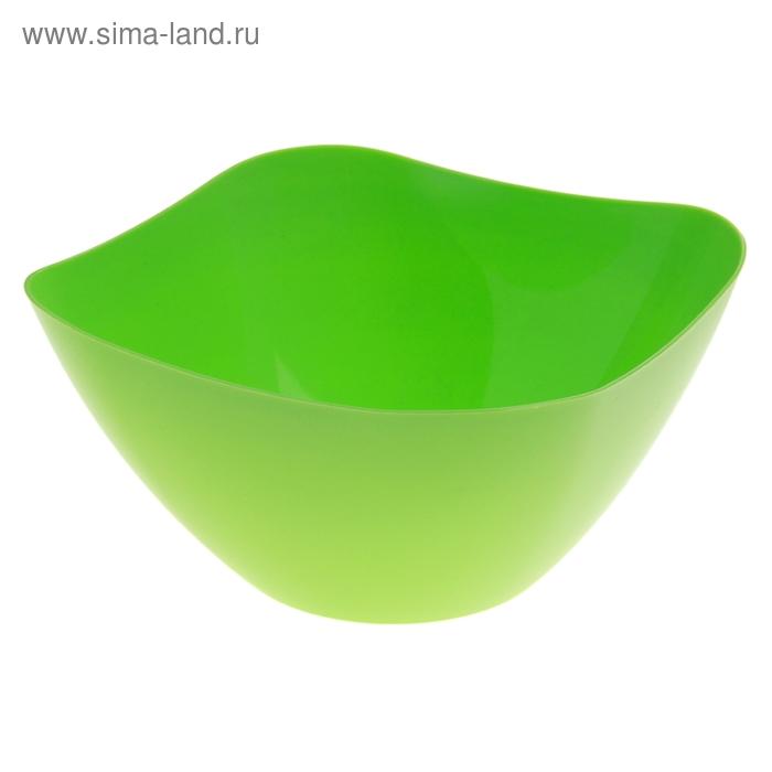 Салатник 3 л Funny, салатовый