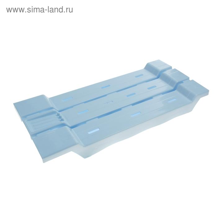 Сиденье для ванной, цвет светло-голубой