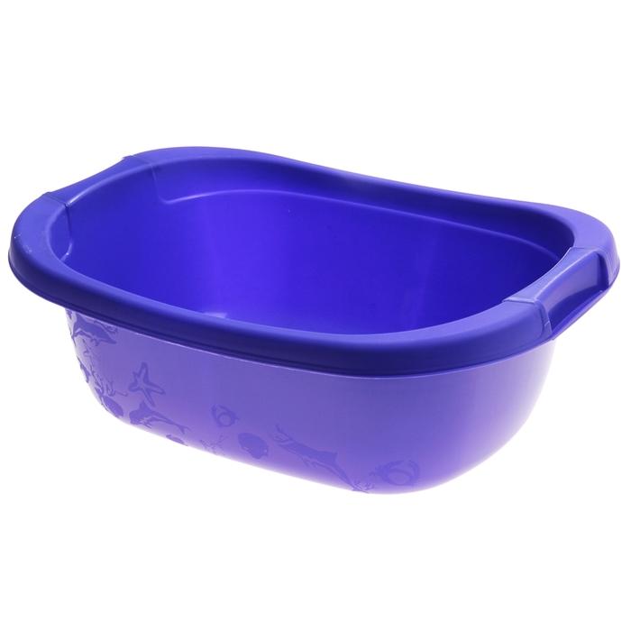 Таз 15 л, цвет лазурно-синий