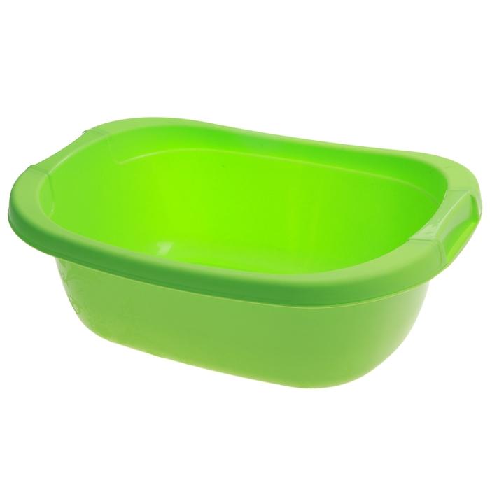 Таз 15 литров, цвет салатовый