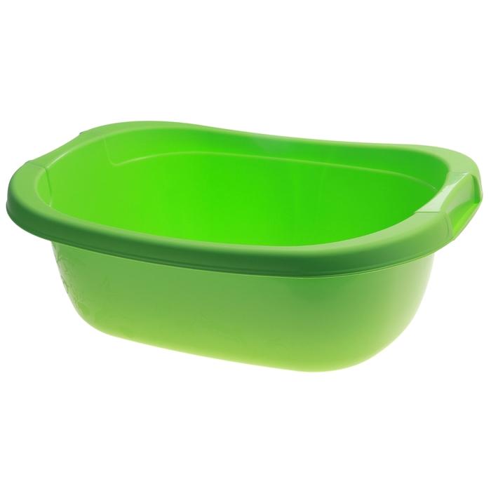 Таз 22 литра, цвет салатовый