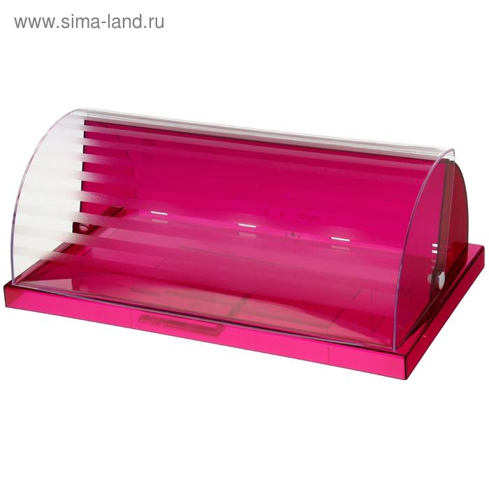 Хлебница с крышкой Valio, цвет гранат