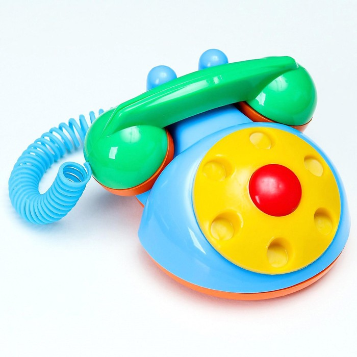 Телефон детский, цвета МИКС - фото 106533657
