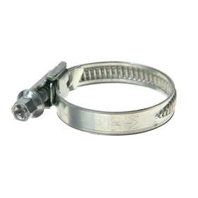 Хомут червячный «Стандарт», диаметр 25-40 мм, оцинкованный
