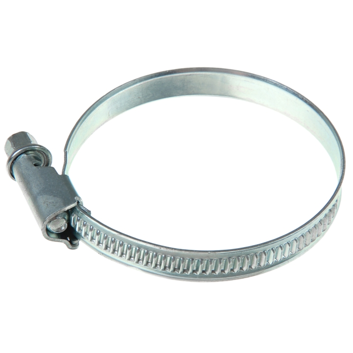 Хомут червячный «Стандарт», диаметр 48-60 мм, оцинкованный