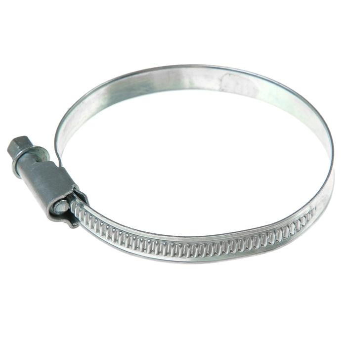 Хомут червячный «Стандарт», диаметр 50-70 мм, оцинкованный