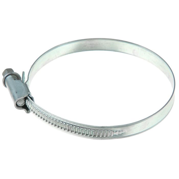 Хомут червячный «Стандарт», диаметр 60-80 мм, оцинкованный