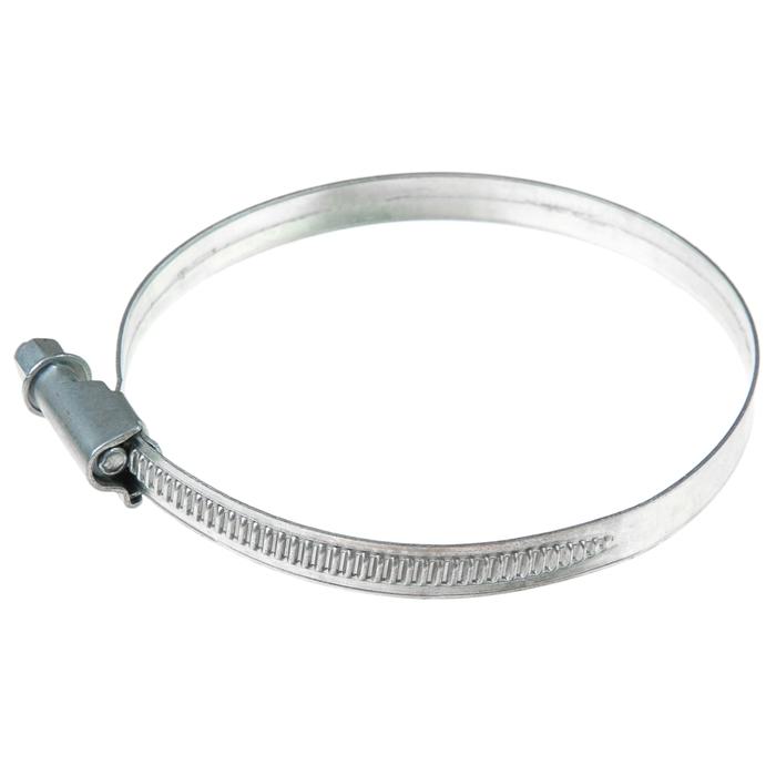 Хомут червячный «Стандарт», диаметр 70-90 мм, оцинкованный