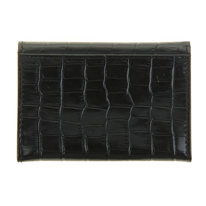 Портмоне женское, 1 отдел для купюр, для кредитных карт, цвет чёрный