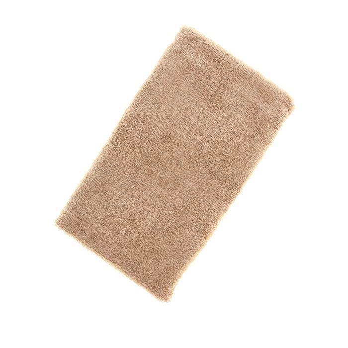 Полотенце махровое однотонное Антей цв бежевый 40*70см 100% хлопок 430 гр/м2