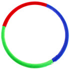 """Hoop weighted """"Perfect silhouette"""", 800 mm (1.8 kg), MIX colors"""