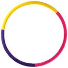 Обруч утяжеленный «Идеальный силуэт», d=90 см, 2,0 кг, цвета МИКС