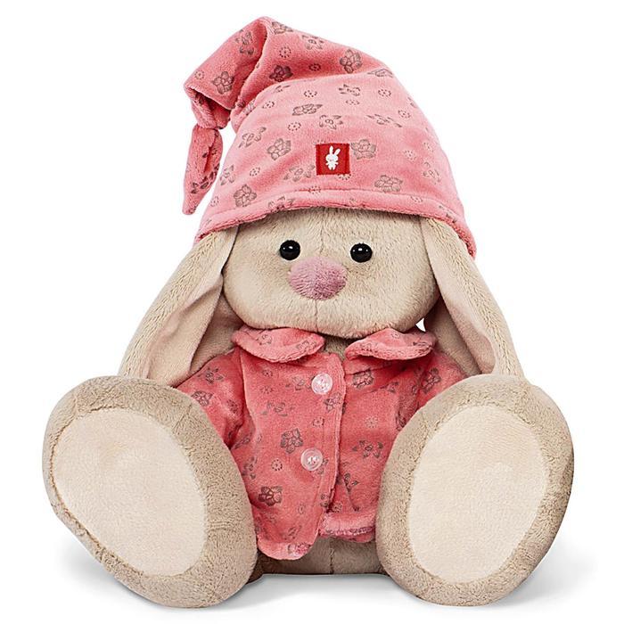 Мягкая игрушка «Зайка Ми» в розовой пижаме, 18 см